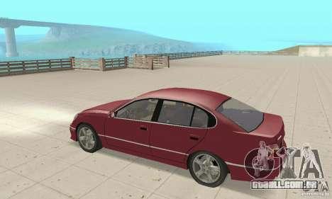 Lexus GS430 1999 para GTA San Andreas vista direita