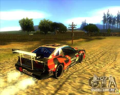 Buffalo D1 para GTA San Andreas traseira esquerda vista