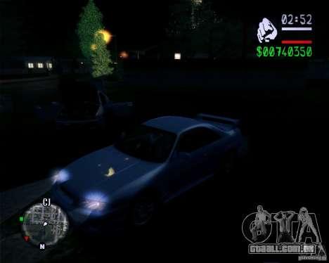 Novos gráficos do jogo 2011 para GTA San Andreas terceira tela