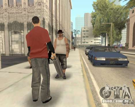 Pedy com sacos para GTA San Andreas