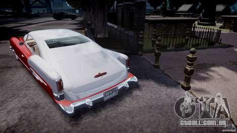 Buick Custom Copperhead 1950 para GTA 4 traseira esquerda vista