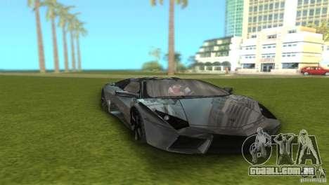 Lamborghini Reventon para GTA Vice City vista traseira