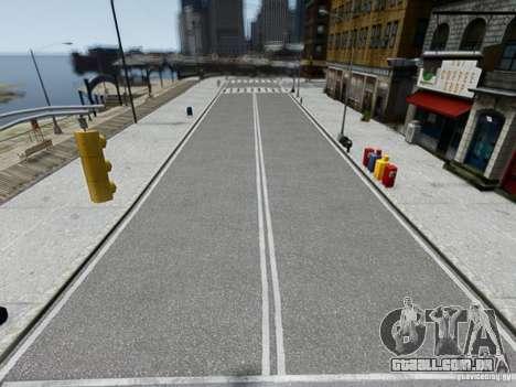 HD Roads 2013 para GTA 4 por diante tela