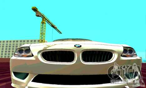 BMW Z4 E85 M para GTA San Andreas vista direita