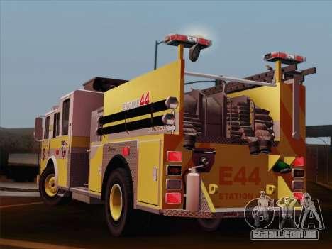 Seagrave Marauder II BCFD Engine 44 para GTA San Andreas vista superior