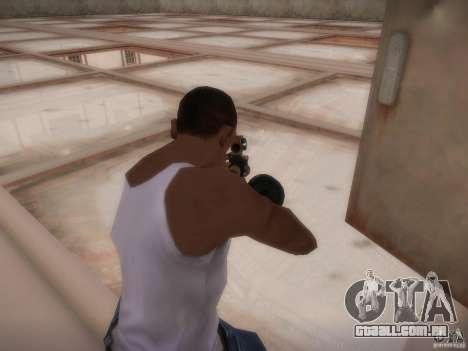 Biblioteca-mapa de Point Blank para GTA San Andreas por diante tela