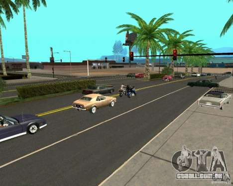 GTA 4 Road Las Venturas para GTA San Andreas segunda tela