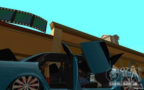 LADA 2170 Penza tuning para GTA San Andreas vista superior