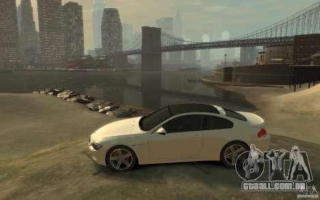 BMW M6 2010 v1.4 para GTA 4 esquerda vista