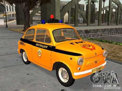 Polícia Soviética ZAZ-965 para GTA San Andreas