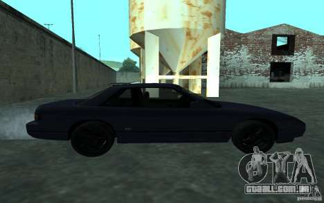 Nissan Onevia (Silvia) S13 para GTA San Andreas esquerda vista