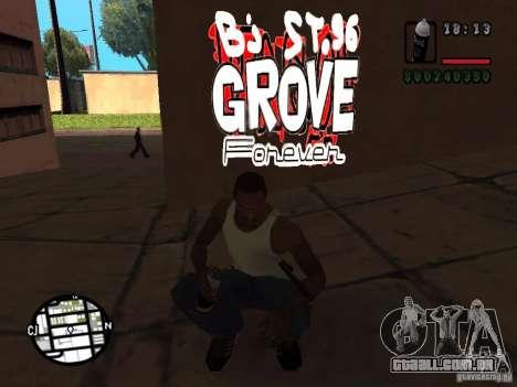 Novas gangues de pichação para GTA San Andreas segunda tela