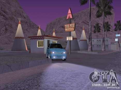 ВАЗ 2114 Casino para GTA San Andreas vista traseira