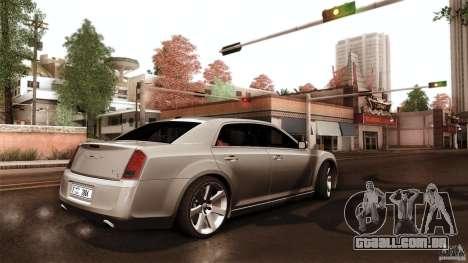 Chrysler 300C V8 Hemi Sedan 2011 para GTA San Andreas vista interior