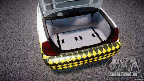 Ford Crown Victoria Karachi Traffic Police para GTA 4 vista de volta