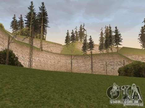 Rede de contactos para GTA San Andreas quinto tela