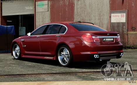 Telas de menu e arranque BMW HAMANN no GTA 4 para GTA San Andreas sexta tela