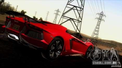 Lamborghini Aventador LP-700 J para GTA San Andreas vista superior