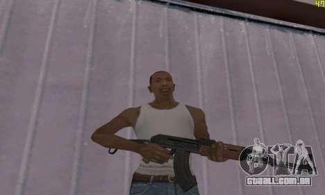AKMS para GTA San Andreas segunda tela