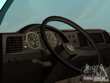 GAZ 33021 para GTA San Andreas vista direita