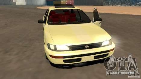 Toyota Corolla Tuned para GTA San Andreas