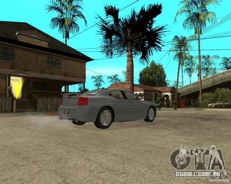 Dodge Charger SRT8 para GTA San Andreas vista direita