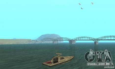 GTA III Ghost para GTA San Andreas esquerda vista