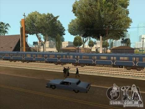 Tubo tipo 81-717 para GTA San Andreas vista traseira