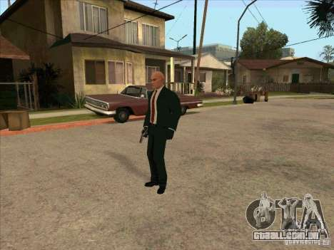 Hitman: Codename 47 para GTA San Andreas por diante tela