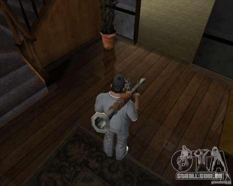 RPG 7 de Battlefield Vietnam para GTA San Andreas terceira tela