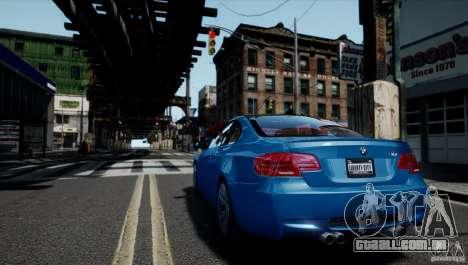 BMW M3 E92 ZCP 2012 para GTA 4 esquerda vista