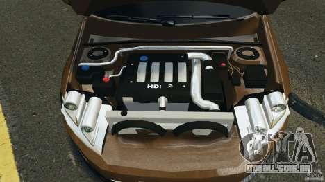 Volkswagen Passat Variant B7 para GTA 4 vista de volta