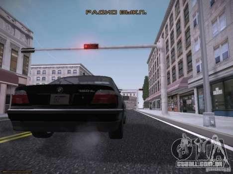 LiberrtySun Graphics ENB v3.0 para GTA San Andreas nono tela
