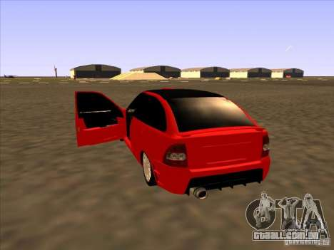 Esporte VAZ-2172 para GTA San Andreas traseira esquerda vista