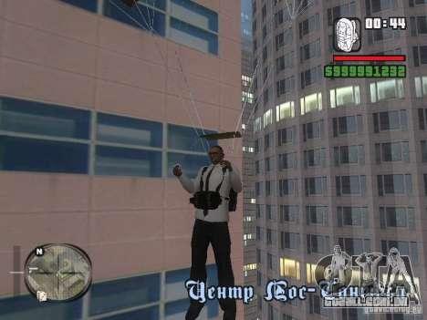 Camisa com gravata para GTA San Andreas quinto tela