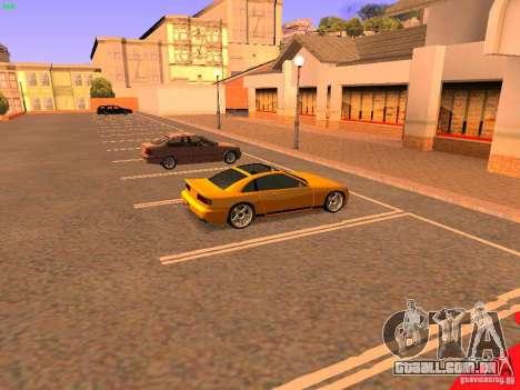 New Euros para GTA San Andreas vista traseira