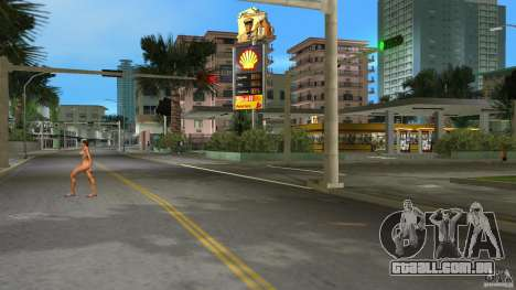 Shell Station para GTA Vice City segunda tela
