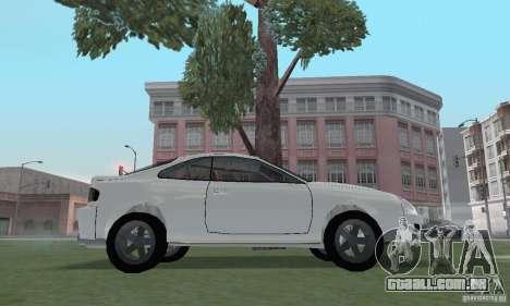 Toyota Celica GT4 2000 para GTA San Andreas vista direita
