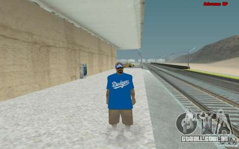 Novas skins para gangue Varios Los Aztecas para GTA San Andreas quinto tela