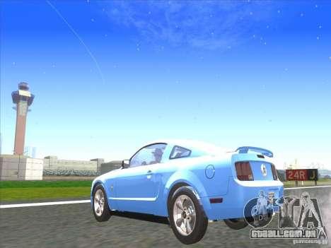 Ford Mustang Pony Edition para GTA San Andreas esquerda vista
