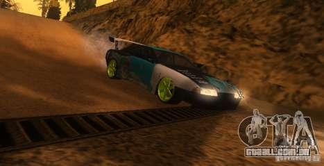 Elegia Nongrata by_k1x para GTA San Andreas esquerda vista