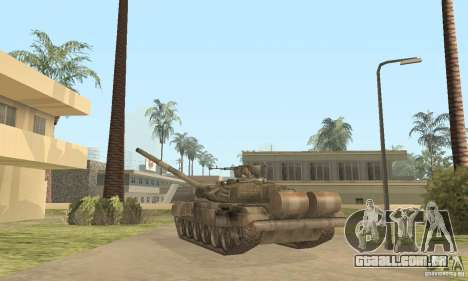 T-90A para GTA San Andreas vista direita