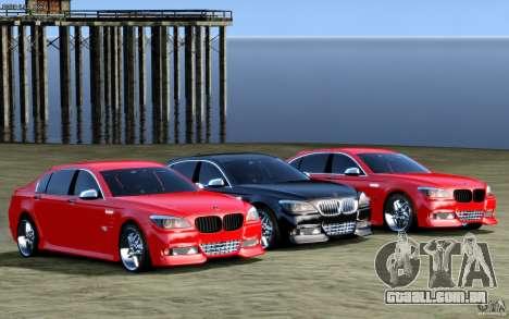 Telas de menu e arranque BMW HAMANN no GTA 4 para GTA San Andreas terceira tela