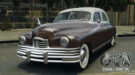 Packard Eight 1948 para GTA 4 esquerda vista