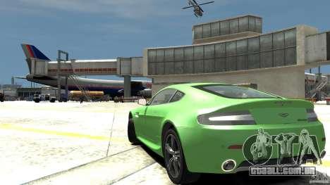 Aston Martin V8 Vantage N400 para GTA 4 traseira esquerda vista
