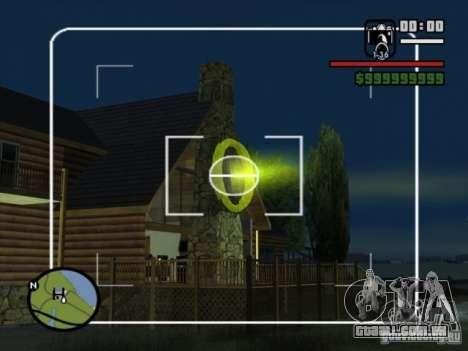 Apoio aéreo para GTA San Andreas segunda tela