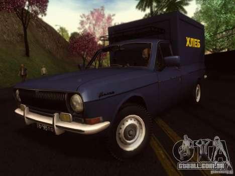 GAZ-24-12 pão van para GTA San Andreas
