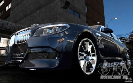 Telas de menu e arranque BMW HAMANN no GTA 4 para GTA San Andreas twelth tela