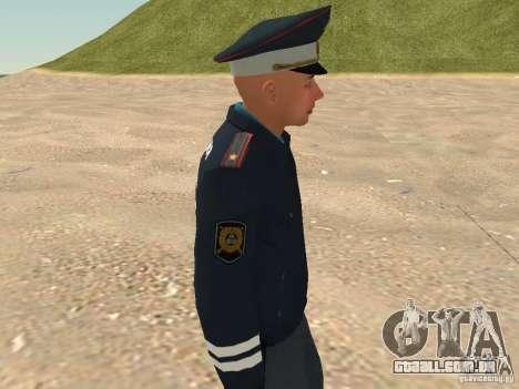 Major DPS para GTA San Andreas sexta tela