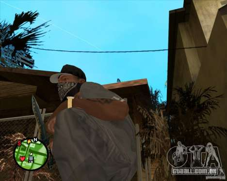 Faca do Counter-strike para GTA San Andreas segunda tela